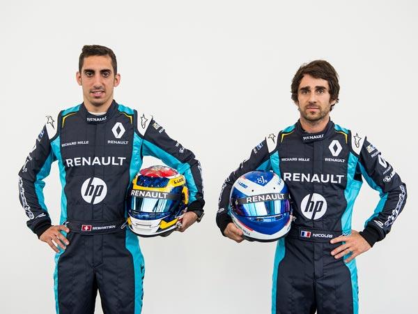 Renault e.dams Reveal Their Race Livery For Formula E Season 3