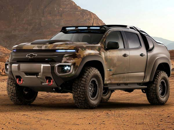 Chevrolet Unveils Colorado Zh2 Fuel Cell Pickup Truck For The Us