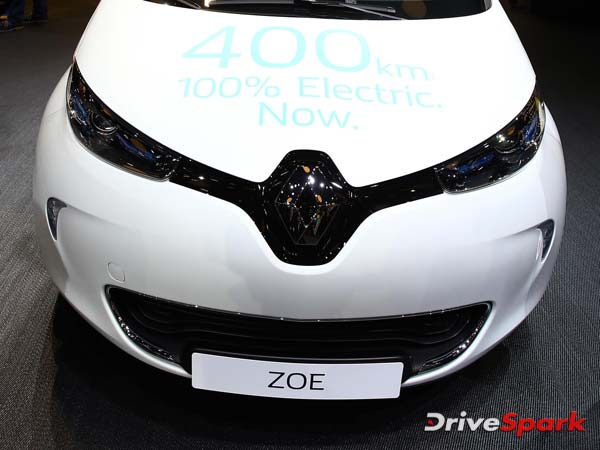 Renault To Test Self-Driving Zoe EV In China
