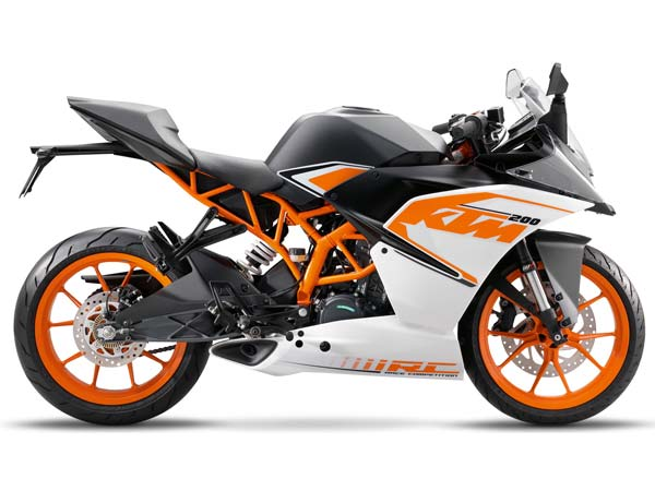 KTM RC390 & RC200 New Colours Revealed