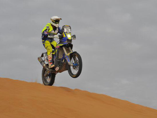 2016 Oilibya Rally Morocco Stage 4: TVS Sherco And KP Aravind Update