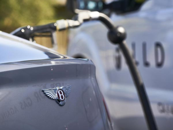Bentley Introduces On-Demand Fuel Delivery Service