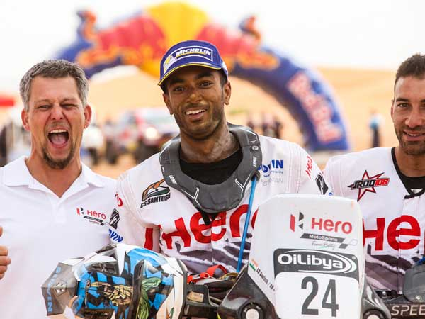 2016 Oilibya Rally Morocco Stage 5: Hero MotoSports Team Rally Leaves Morocco With Positive Outlook