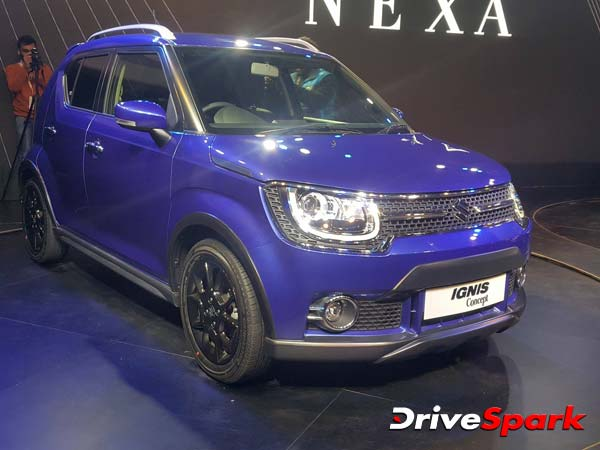Maruti Ignis To Launch In India During Early 2017