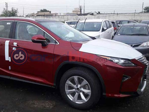 Spy Pics: Lexus RX450h Spotted In India Ahead Of Launch