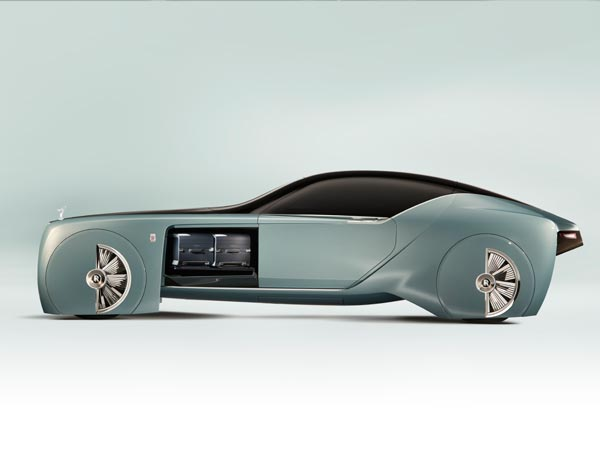 Rolls Royce 103EX Concept Showcased In US