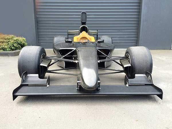 Prototype Formula 5000 Car Hits the Track At Winton