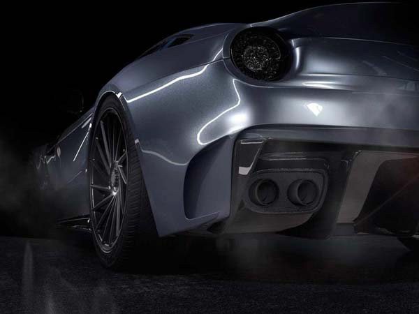 Carbon Fibre Makeover For Ferrari F12 By Spanish Tuner