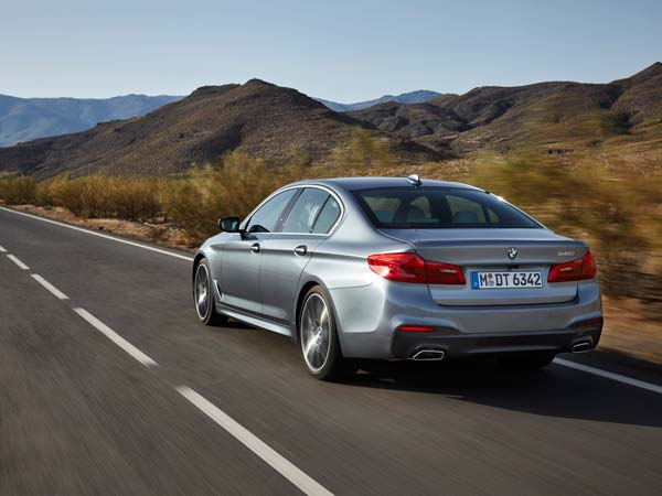 2017 BMW 5 Series Revealed; Specs And Pictures