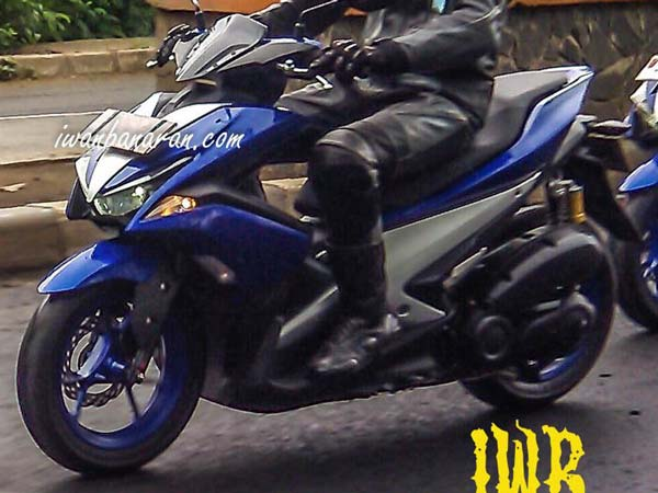 Yamaha NVX 150 Scooter Spotted Testing