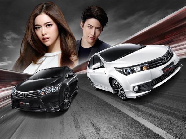 Toyota Launches 2016 Corolla ESport Edition In Thailand