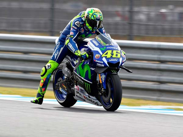 Rossi Steals Pole Position From Marquez At Motegi