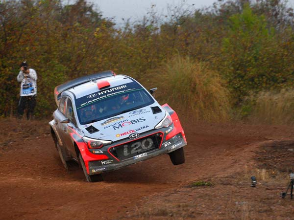 World Rally Championship — Dani Sordo Leads Rally Spain After Day One