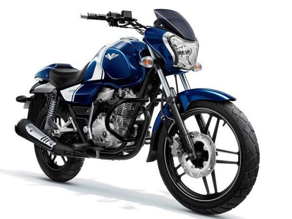 Bajaj V15 Now Available In Ocean Blue Paint Job