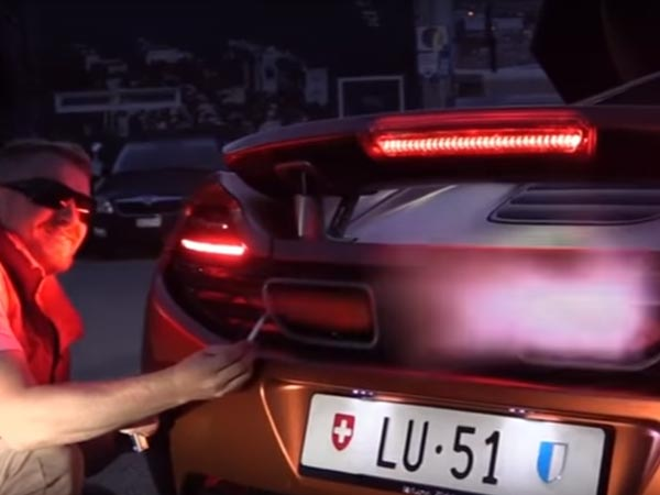 Video: World's Most Expensive Cigarette Lighter — The Mclaren MP4-12C