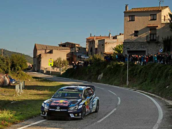 World Rally Championship — Sebastien Ogier Clinches Fourth Title With Rally Spain Victory