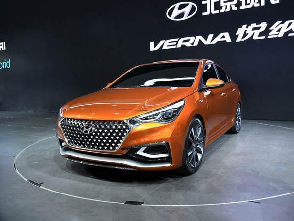 2017 Hyundai Verna Launched In China
