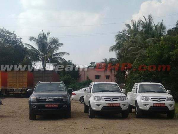 Spotted: Tata Xenon Facelift With Automatic Transmission