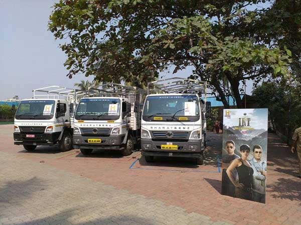 BharatBenz Trucks To Be Used In The First Season Of India's Deadliest Roads (IRT)