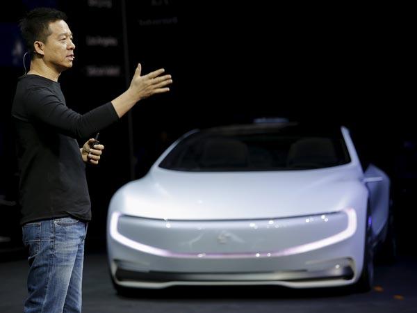 LeEco Unveils A Self-Driving Electric Car In San Francisco Without The Actual Car!