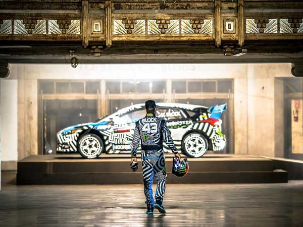 Experience The Madness Of Ken Block's Gymkhana 9 In 360 Degree VR