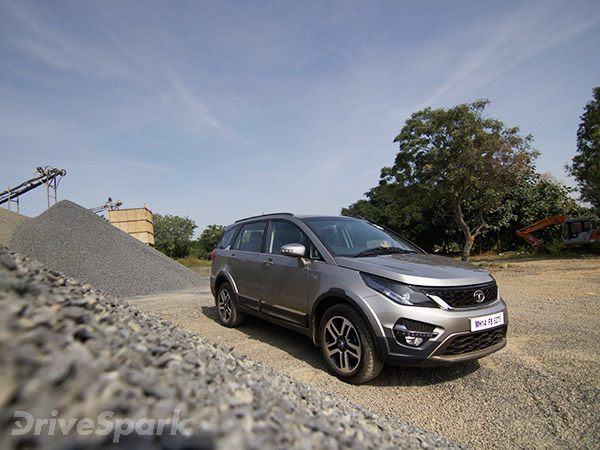 Tata Hexa Test Drive Review Features Performance Images And