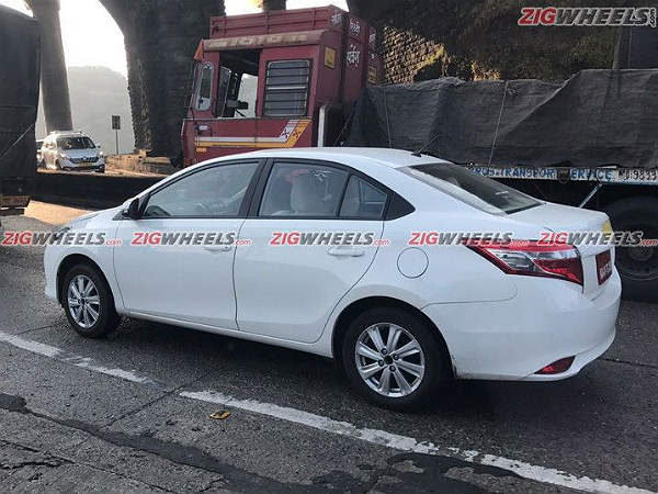 Toyota Vios Spied Testing — Sheds All It Camouflage