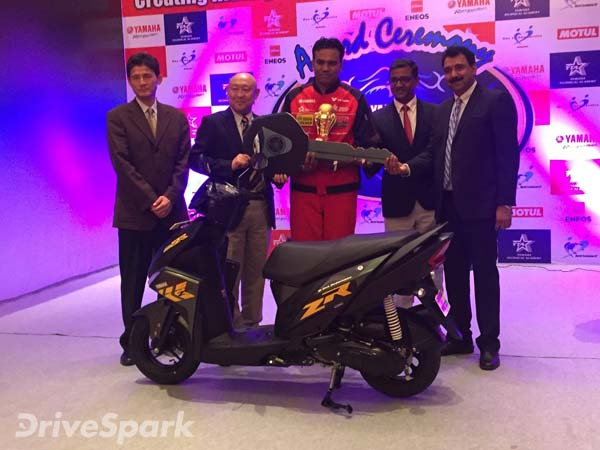India Yamaha Motor Wins The World Technician Grand Prix 2016