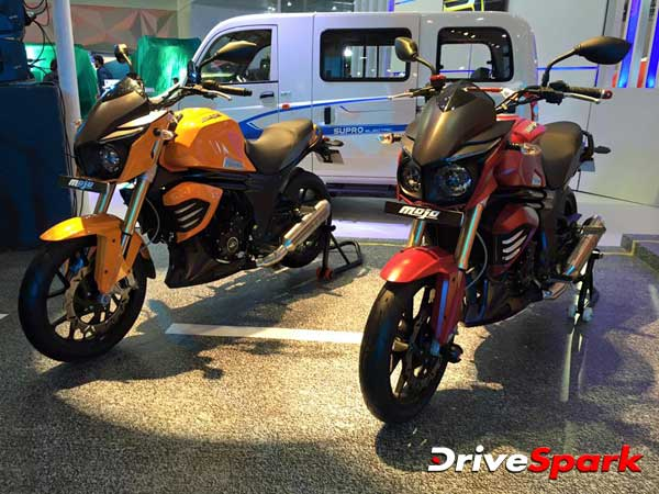 Mahindra Mojo To Be Available In Sunburst Yellow Colour