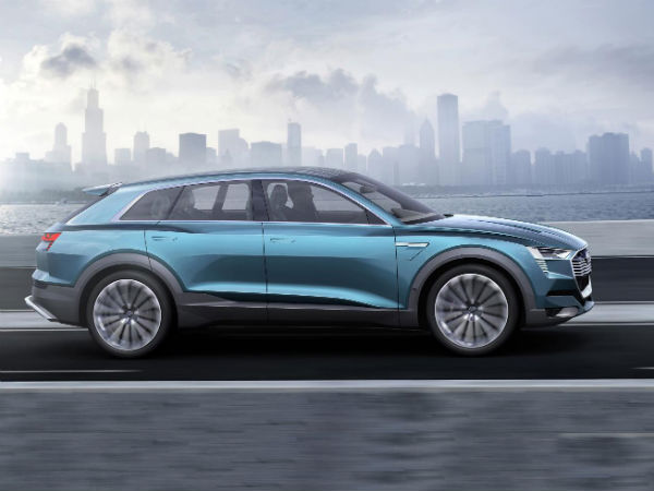 Audi's New All-Electric SUV To Be Called e-tron