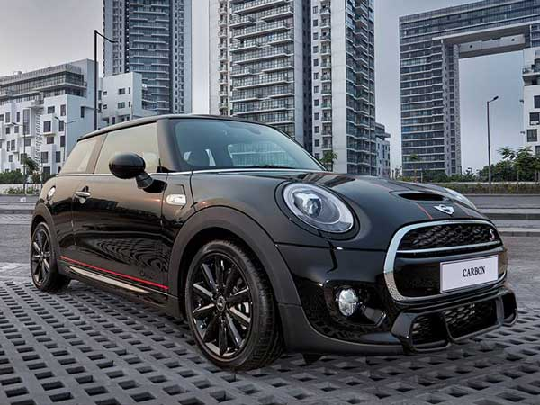 Mini Cooper Carbon Edition Launched Exclusively On Amazon In India