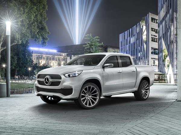 Unveiled: Mercedes-Benz X-Class Pickup In Sweden