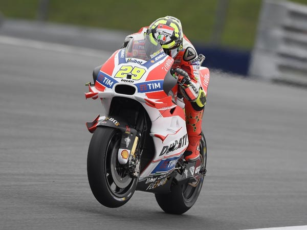 Ducati Confirm Andrea Iannone Will Be Present At The 2016 Malaysian GP