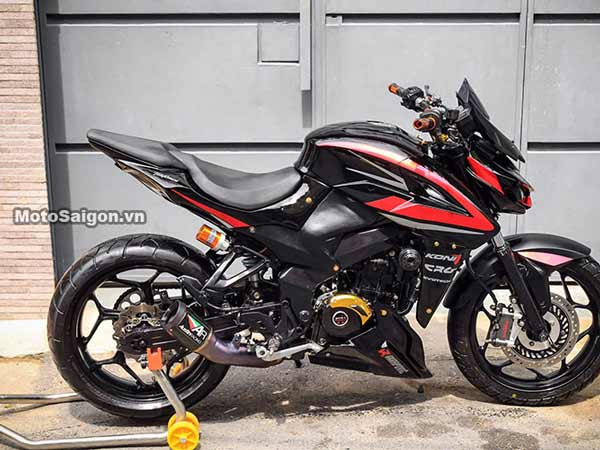 This Bajaj Pulsar 200NS Has Been  Blinged Up To Its Core