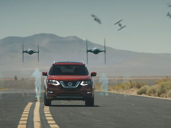 Nissan Rogue Goes To A Galaxy Far Far Away In Crazy Star Wars Ad