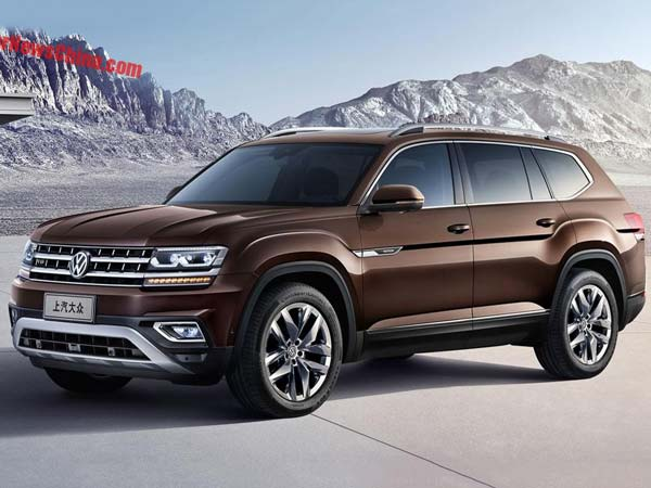 Volkswagen To Launch Teramount SUV In China