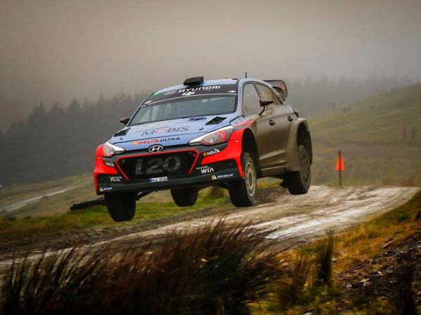 World Rally Championship — Sebastien Ogier Leads Wales Rally GB After Day 1