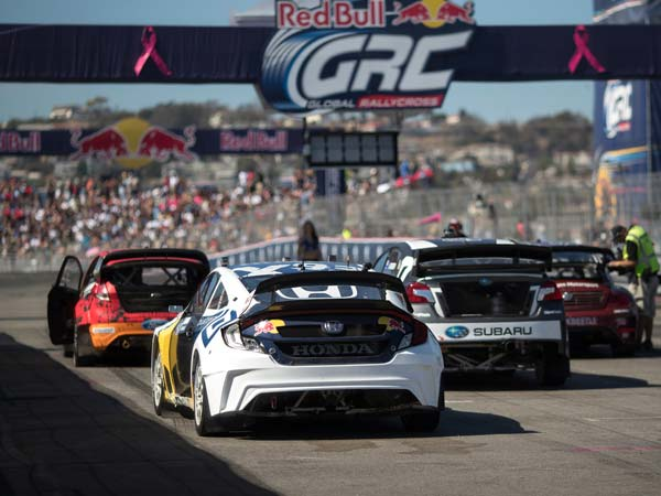 Electric Global Rallycross Racing Series Fixed For 2018