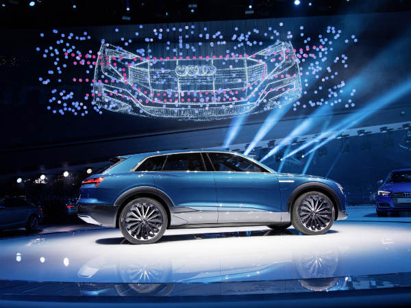 "Audi's New All-Electric SUV To Be Called ""e-tron"""