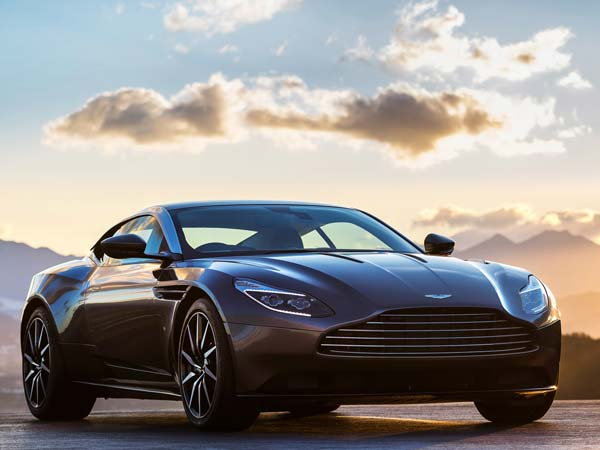 Aston Martin DB11 — James Bond's Favourite Car Showcased In Chennai