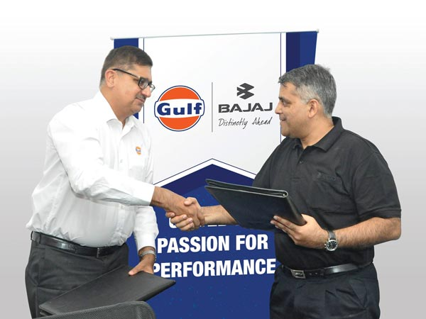 Bajaj DTS-i 10000 Engine Oil Exclusively Made By Gulf Oil