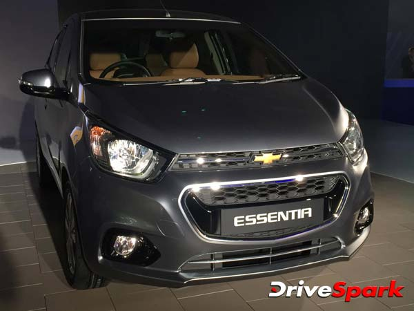 Chevrolet Beat Essentia To Be Launched In March 2017
