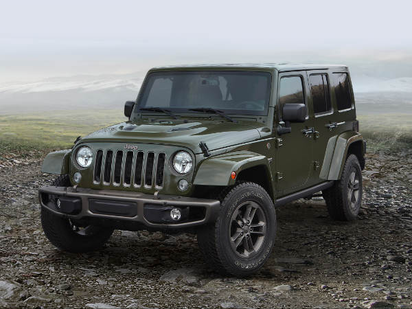 Jeep Wrangler Recalled Over Airbag Issues