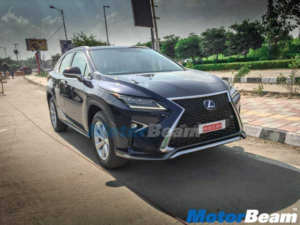 Spy Pics: Lexus RX 450h Spotted Undisguised — Have Deliveries Started?