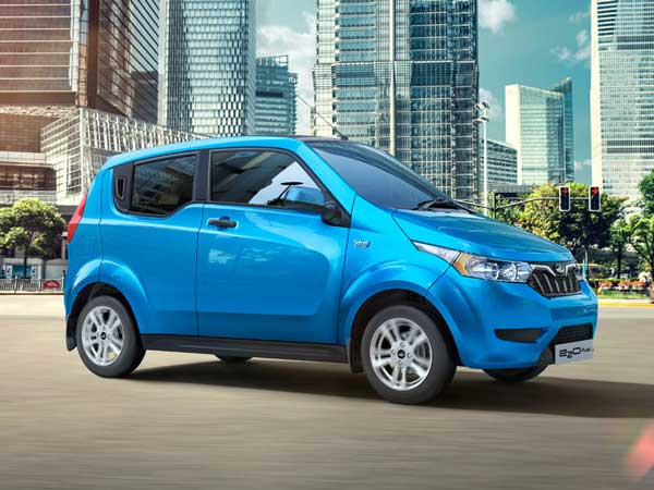 Mahindra Sure Shot About Its Electric Hatchback Car