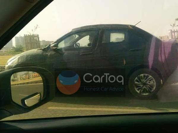 2017 Maruti Suzuki Swift Dzire Spied Testing For The First Time