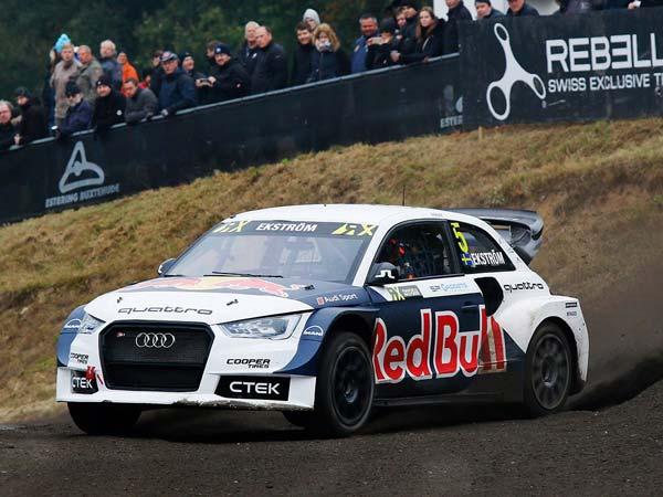 Mattias Ekstrom Becomes New World Rallycross Champion