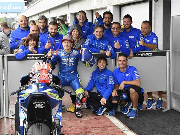 Maverick Vinales Podium At Australian GP Was Ecstar Suzuki's Loss