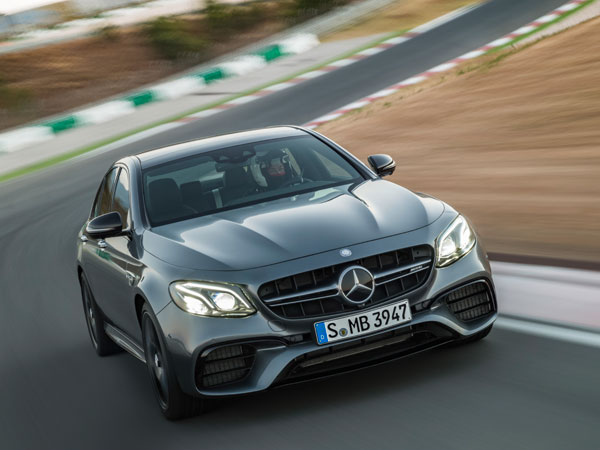 Mercedes Unveils E 63 S AMG — The Quickest Road-Going AMG Of All Time