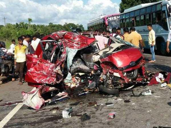 Tata truck accident